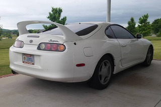 A Toyota Supra in Tennessee Has Racked Up 520,000 Miles
