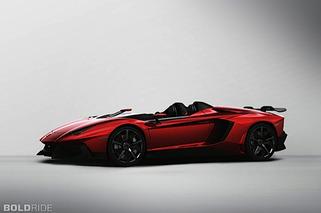 Jaw Dropper: 2012 Lamborghini Aventador J