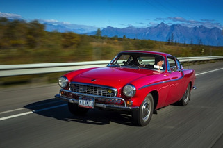 Irv Gordon Logs 3 Million Miles in His 1966 Volvo P1800