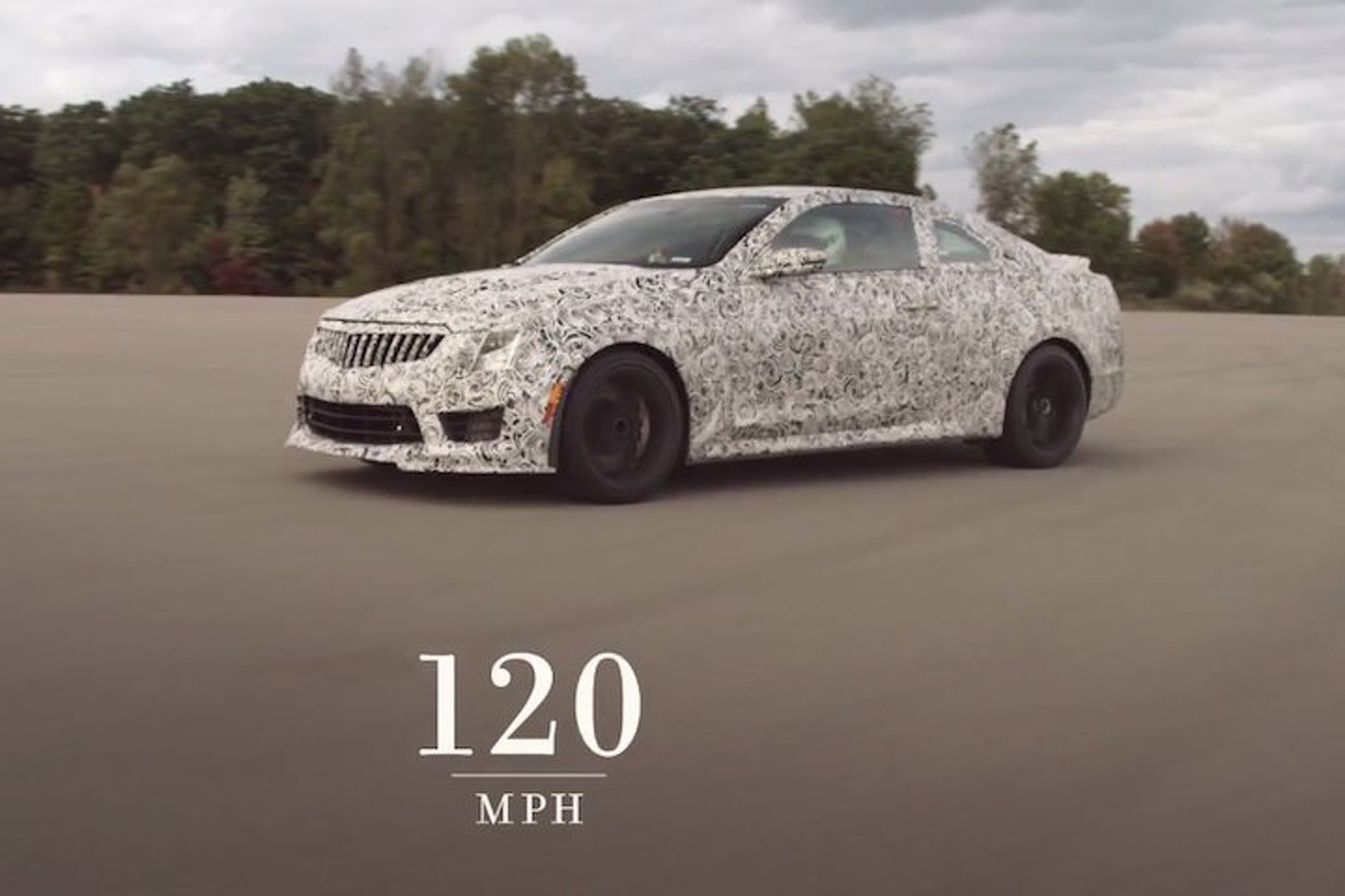 Watch the Cadillac ATS-V Hit 60MPH in Under 4 Seconds