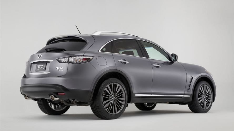 2017 Infiniti QX70 Limited live in New York