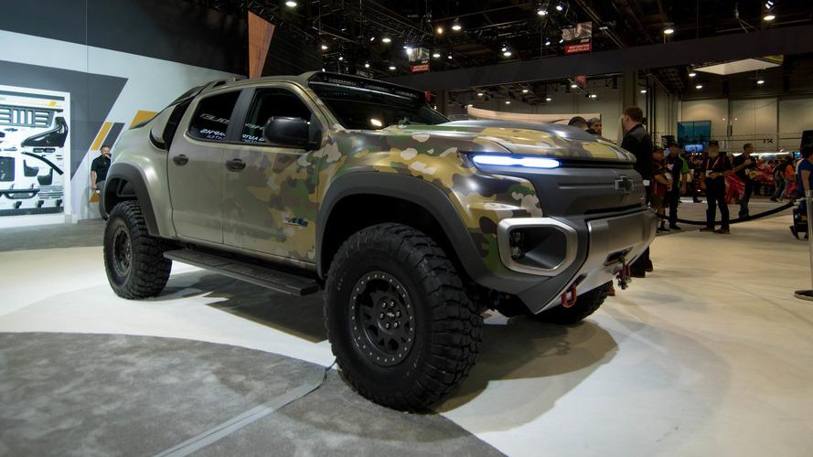 Chevrolet Colorado ZH2 Hydrogen Pickup