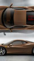 Ferrari 458 Italia - Marrone 1