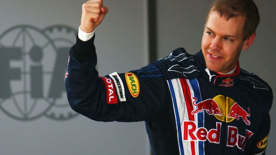 Vettel scores Red Bull's first pole