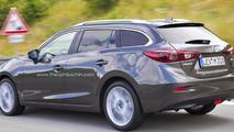2014 Mazda3 imagined as a wagon