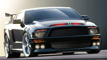 Ford Shelby Mustang GT500KR as KITT