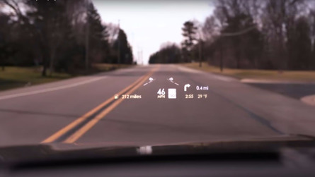 Wear Shades With Lincoln's Huge Head-Up Display For The Continental