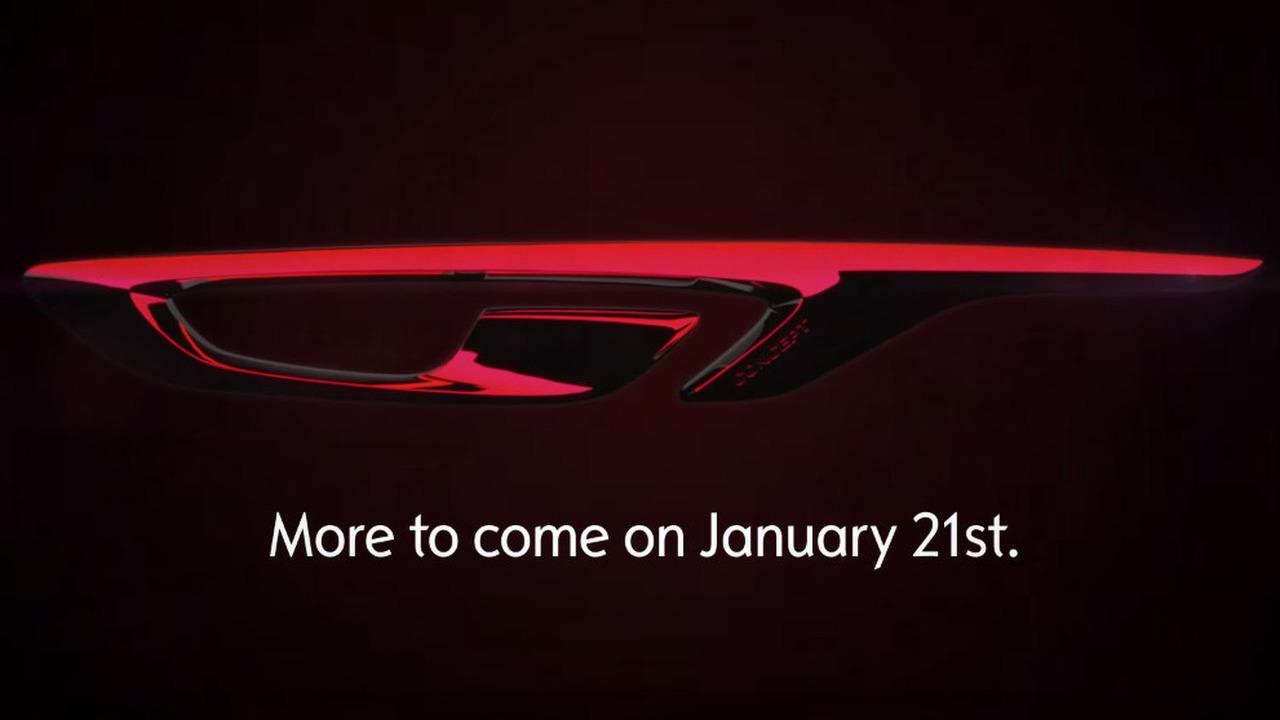 Opel GT Concept teaser image