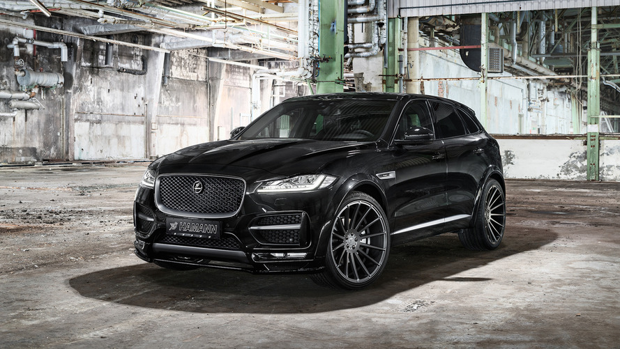 Hamann's Jaguar F-Pace isn't pretty, but at least it has 410 hp