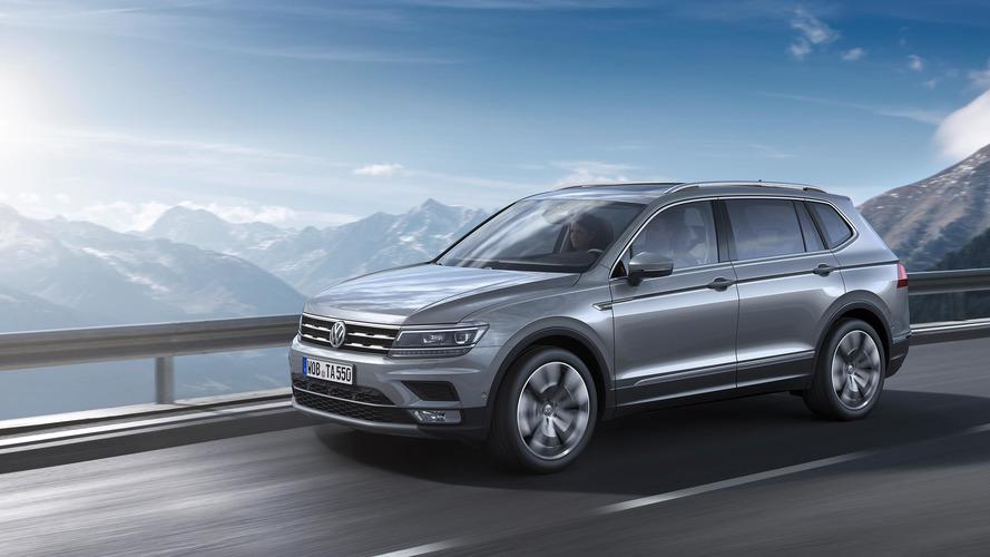 VW Tiguan Allspace Geneva Premiere