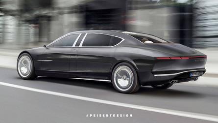 2020 Mercedes-Maybach 850 Landaulet rendering redefines luxury