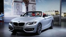 BMW 2-Series Cabriolet unveiled under Paris lights