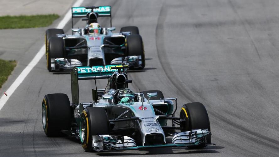 No Mercedes 'go slow' despite Canada problems