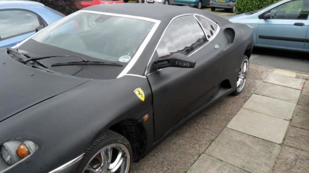 Peugeot 406 Coupe Ferrari F430 replica