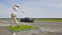 Mercedes SLS AMG Roadster sets world record for... catching a golf ball