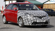 2013 MG 3 facelift spy photo 26.7.2012