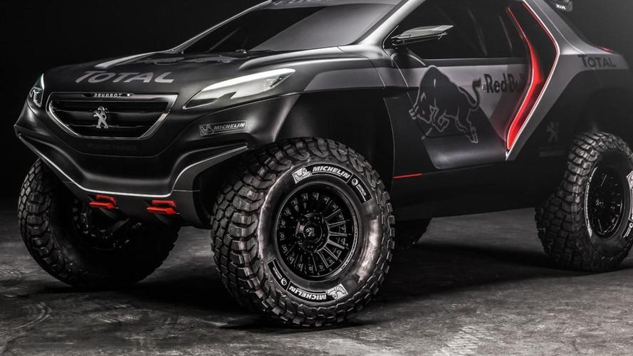 Peugeot reveals menacing 2008 DKR for 2015 Dakar Rally [video]