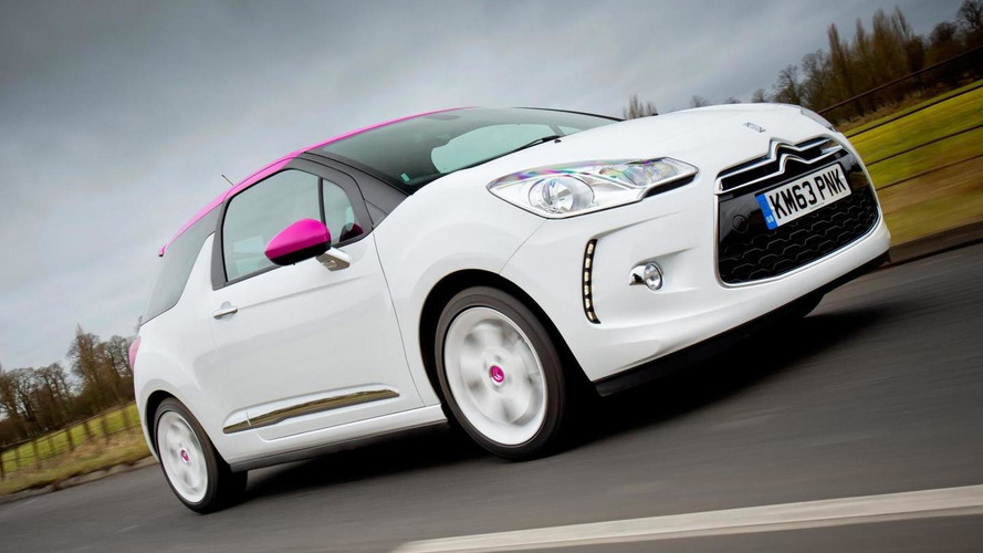 Citroen introduces DS3 Pink special editions in UK