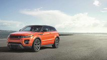 Range Rover Evoque Autobiography Dynamic heading to Geneva with 285 HP