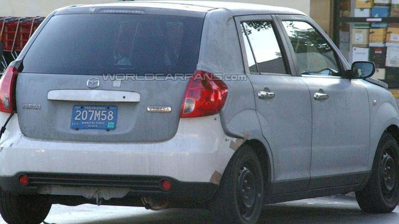 SPY PHOTOS: New Mazda2 Sedan and Wagon