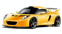 Lotus Exige GT3 Concept Road Vehicle