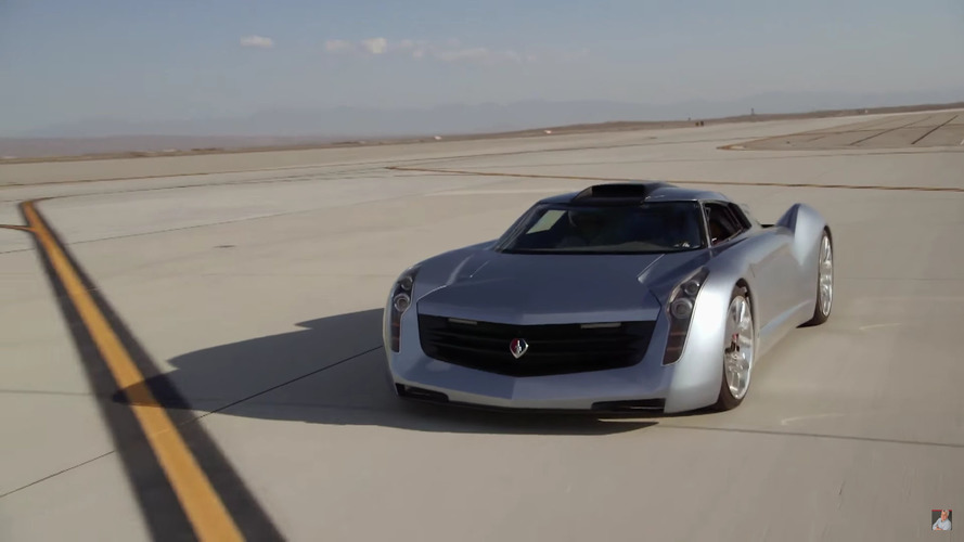 Jay Leno's jet car blows out window at 130 mph, proceeds to 165
