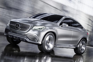 Mercedes-Benz Shows Off X6-Rivaling Concept Coupe SUV