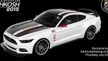 Ford Mustang Apollo special edition unveiled for 2015 EAA AirVentur
