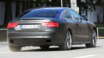 Audi RS5 first spy photos