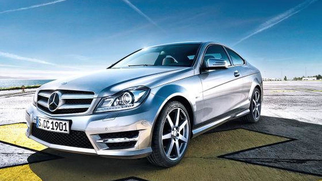 2012 Mercedes C-Class Coupe leaked photo, 560, 07.01.2011