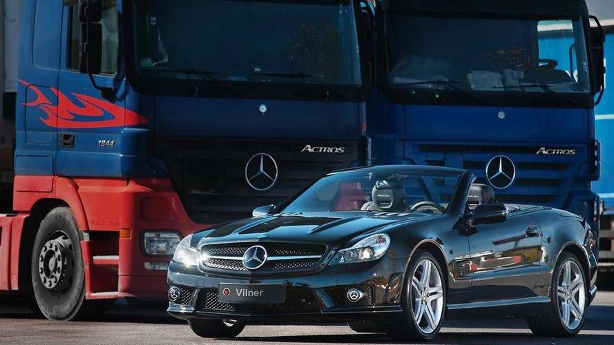 Mercedes-Benz SL 63 AMG Shadow Line interior by Vilner [video]