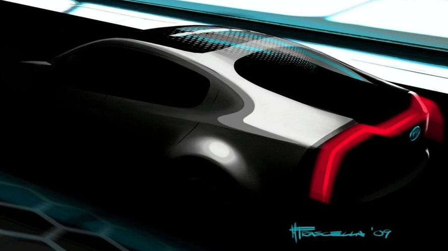 Kia Ray Concept Teaser Sketch Released for Chicago Auto Show Debut