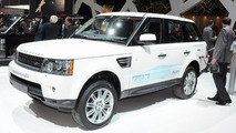Land Rover Range_e plug-in hybrid live in Geneva - 01.03.2011