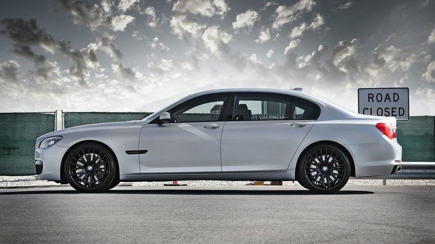 BMW 7 Series M Sport Receives Matt Black Trim Treatment by EAS