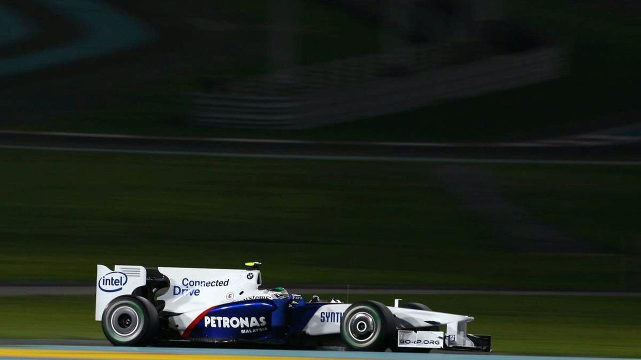 Nick Heidfeld (GER), BMW Sauber F1 Team, Abu Dhabi Grand Prix, Friday Practice, 30.10.2009 Abu Dhabi, United Arab Emirates
