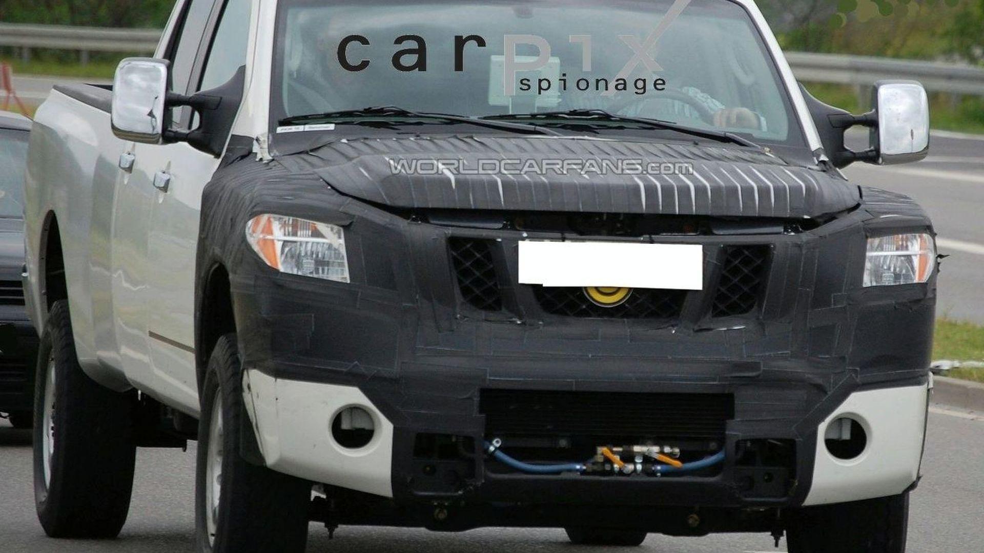 Nissan Preparing Facelift for Titan Pickup Truck