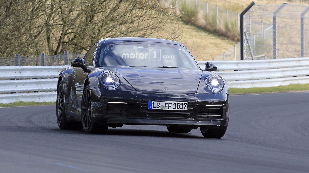 2019 Porsche 911 new spy photo