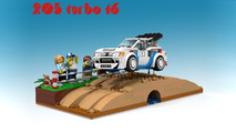 Peugeot 205 T16 Diorama on Lego Ideas