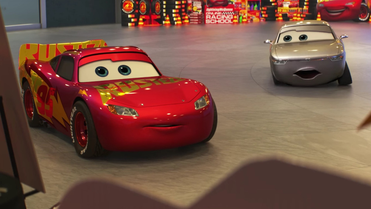 Cars 3 Reveals Two New Characters Jackson Storm And Cruz Ramirez