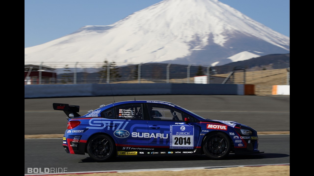 Subaru WRX STI Race Car