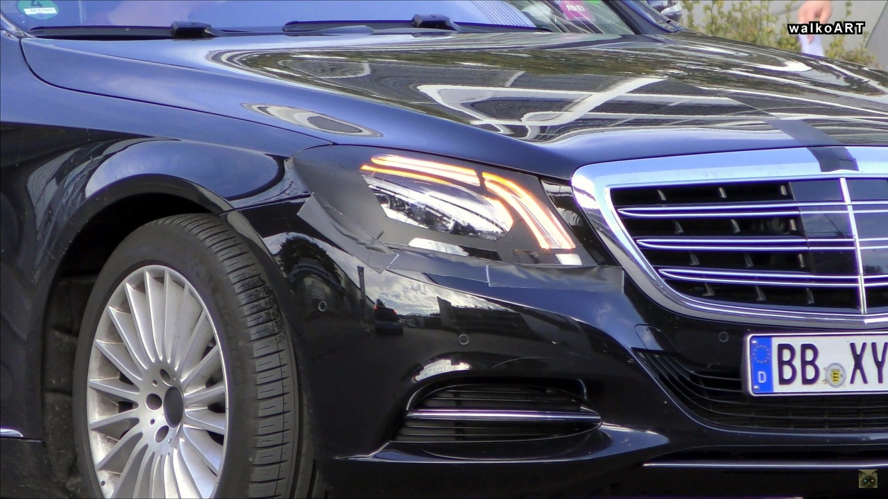 2018 Mercedes S Class Spied With Revised Headlights And