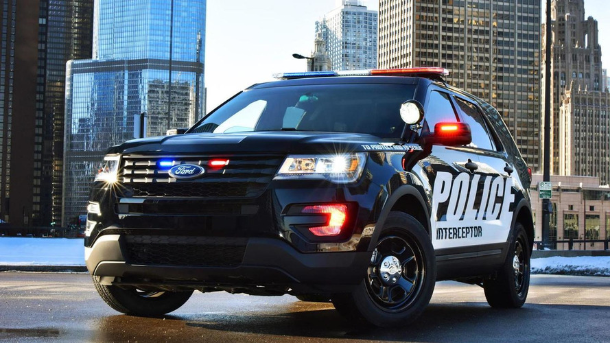2016 Ford Police Interceptor Utility goes official [videos]