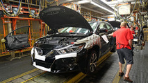 2016 Nissan Maxima production