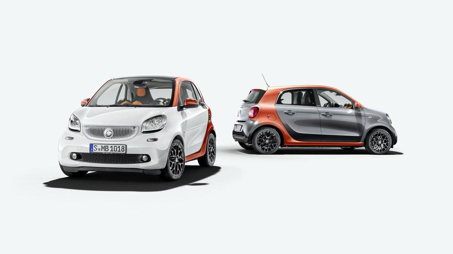 2015 Smart ForTwo & ForFour unveiled