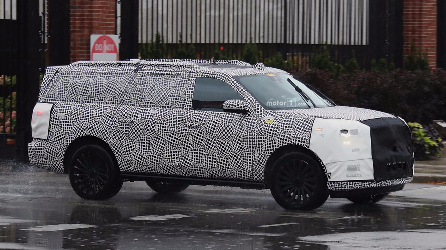 Next-gen Lincoln Navigator interior spied with cues from crazy concept