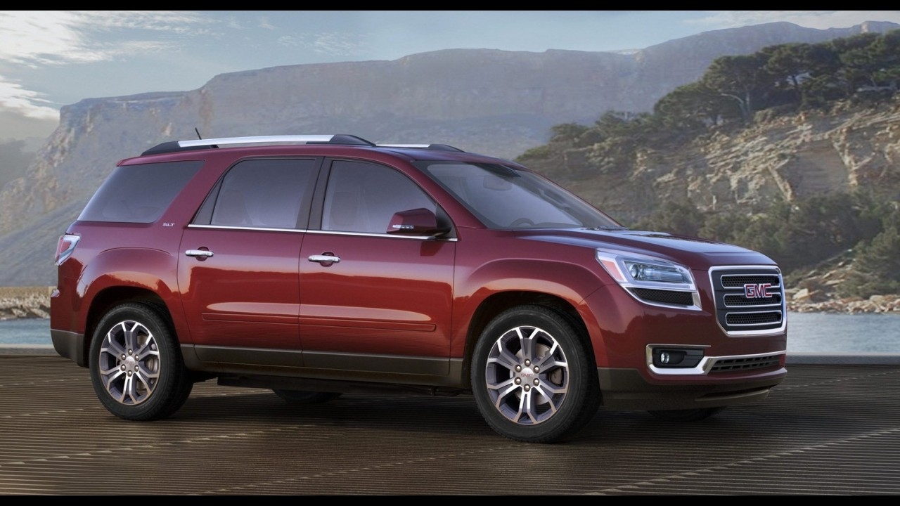 Salão de Chicago: GMC atualiza visual do SUV Acadia