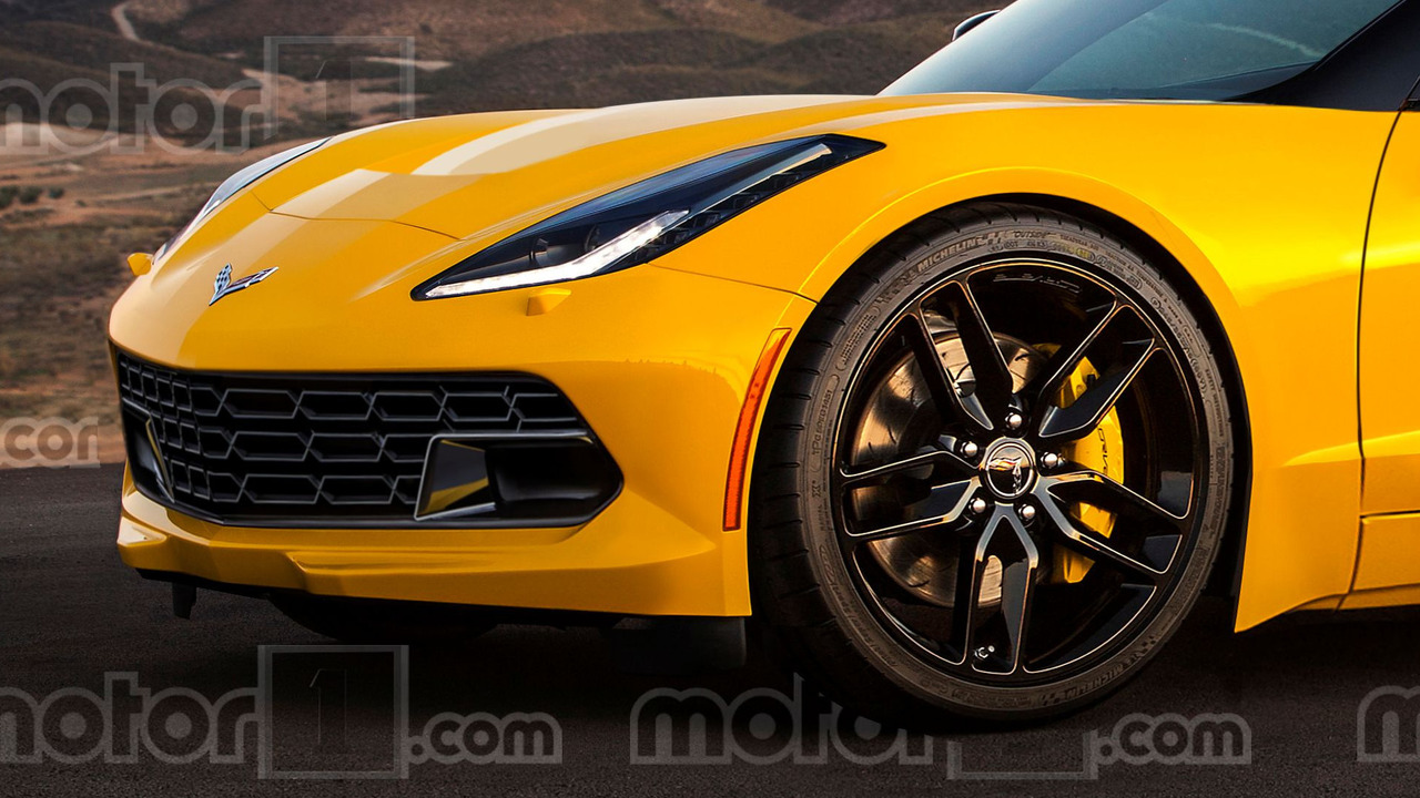 Chevy Corvette C8 mid-engine render