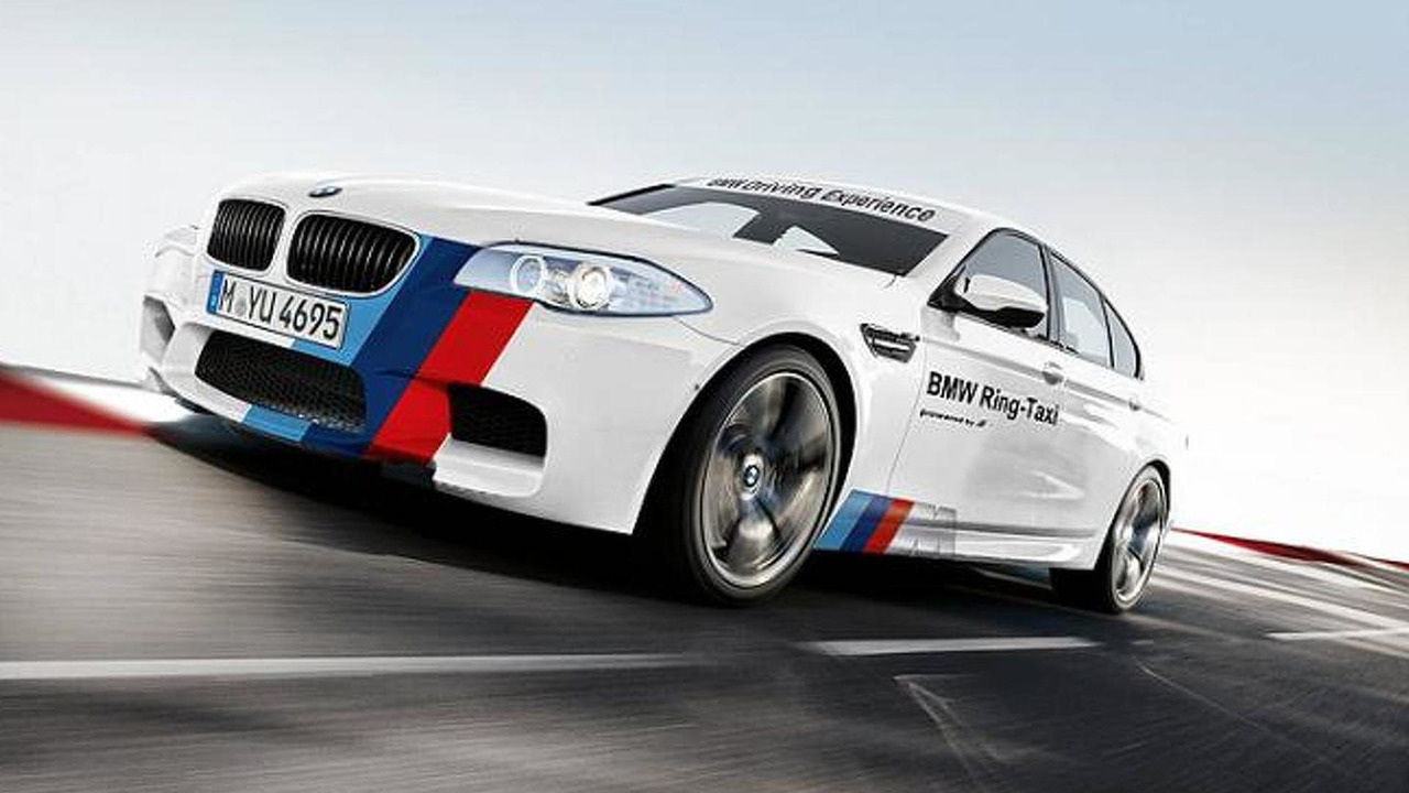 BMW F10 M5 returns as Ring-Taxi, 720, 18.04.2012