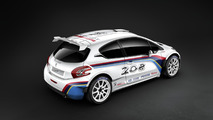 Peugeot 208 TYPE R5 rally car