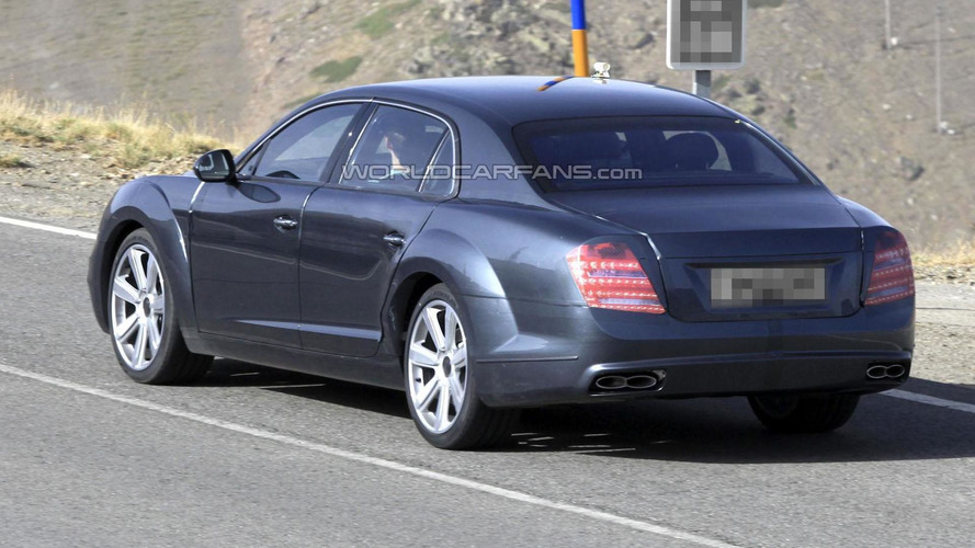 2014 Bentley Continental Flying Spur spied